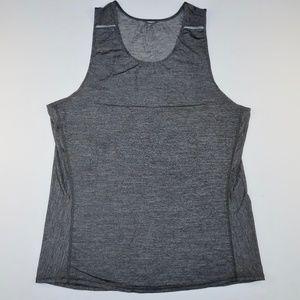 Lululemon Mens Tank Top Grey Measurments in Pics